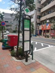「下田端(北側)」バス停留所