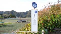 「野」バス停留所