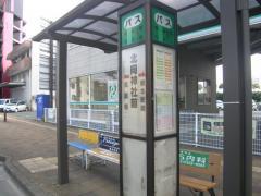 「北岡神社前」バス停留所