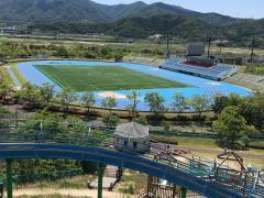 敦賀市総合運動公園陸上競技場