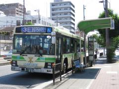 「南田辺」バス停留所
