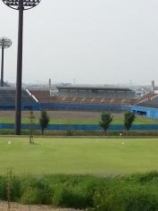赤坂総合公園野球場(グリーンスタジアムよこて)
