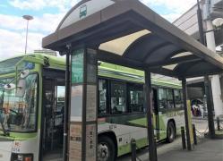 「王子駅」バス停留所