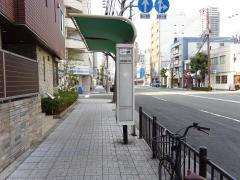 「京町堀二丁目」バス停留所