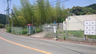 「上大木」バス停留所