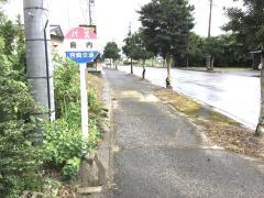 「島内」バス停留所