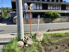 「上久屋新田」バス停留所