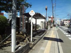 「橋本市役所前」バス停留所