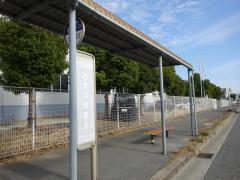 「西宮浜東第五」バス停留所