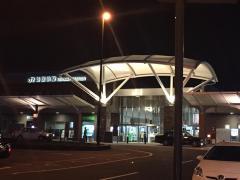 「新居浜駅」バス停留所