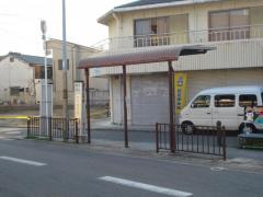 「金岡神社前」バス停留所
