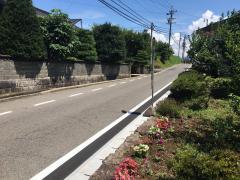 「辻原口」バス停留所