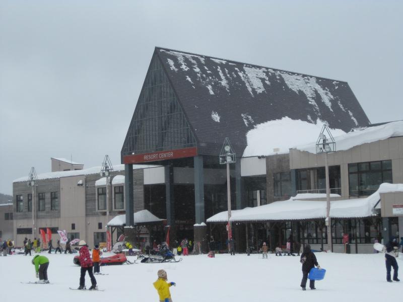 スキー場休憩施設
