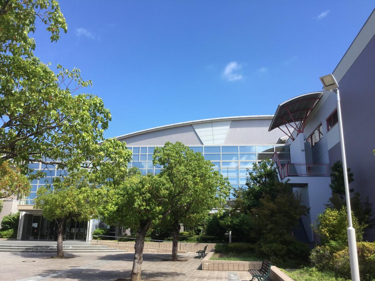 西尾市総合体育館です。