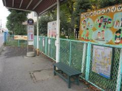 「川柳小学校前」バス停留所