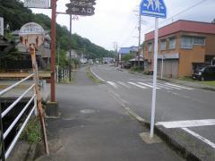 「弘文洞入口」バス停留所