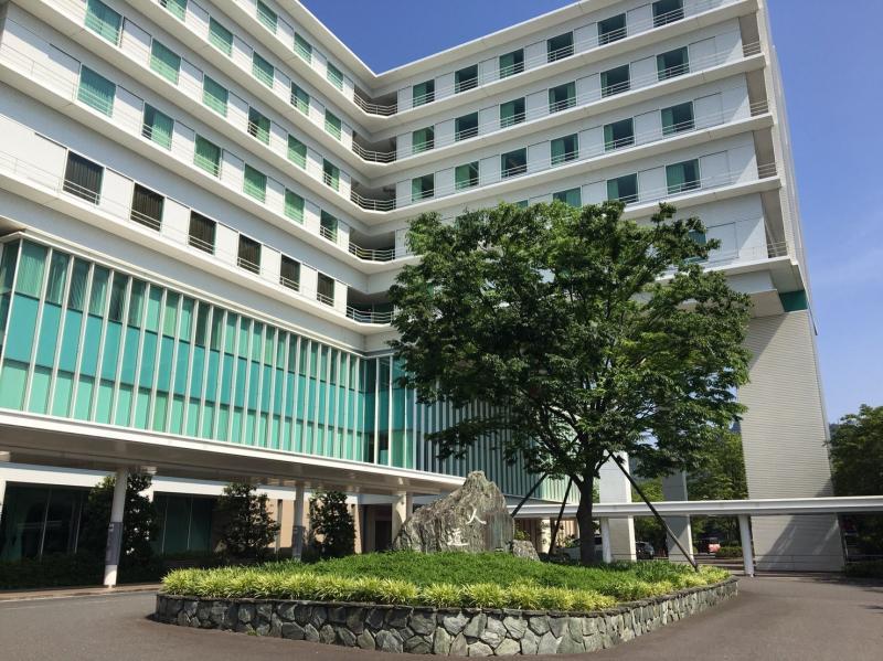 徳島赤十字病院 施設外観。