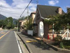 「戸沢入口」バス停留所