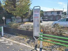 「西砂川公会堂」バス停留所