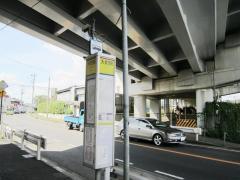 「大町駅」バス停留所