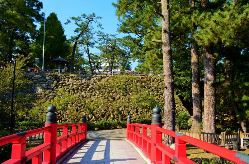 神橋からの岡崎城