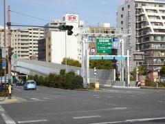 西長堀出入口(IC)