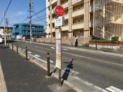 「大坪小学校」バス停留所