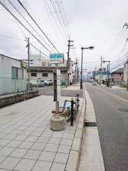「長吉出戸住宅前」バス停留所