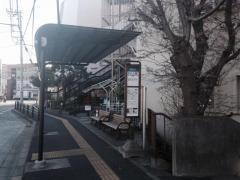「京成大久保駅」バス停留所