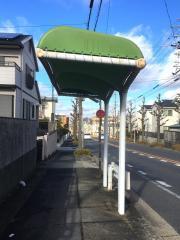 「篠の風」バス停留所