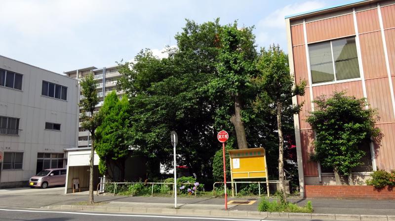 松重橋街園(東側)