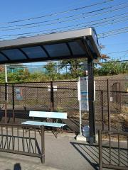 「西の京高校」バス停留所