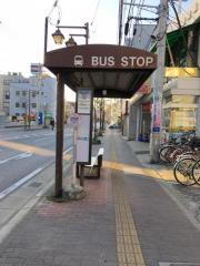 「習志野市役所」バス停留所