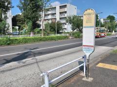 「境川団地入口」バス停留所