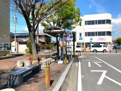 「富士松駅」バス停留所
