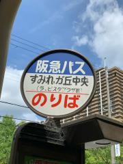 「すみれガ丘中央」バス停留所