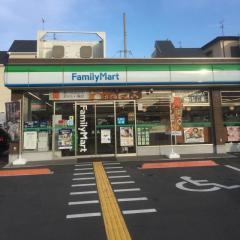 ファミリーマート きしざわ新石切北店