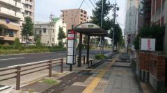「熱田駅」バス停留所