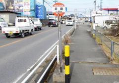 「井田」バス停留所