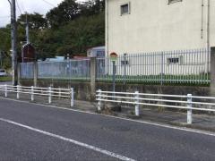 「日本化学工場前」バス停留所