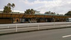 「長島温泉」バス停留所
