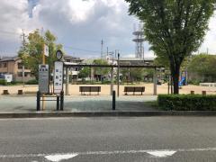 「加島西」バス停留所