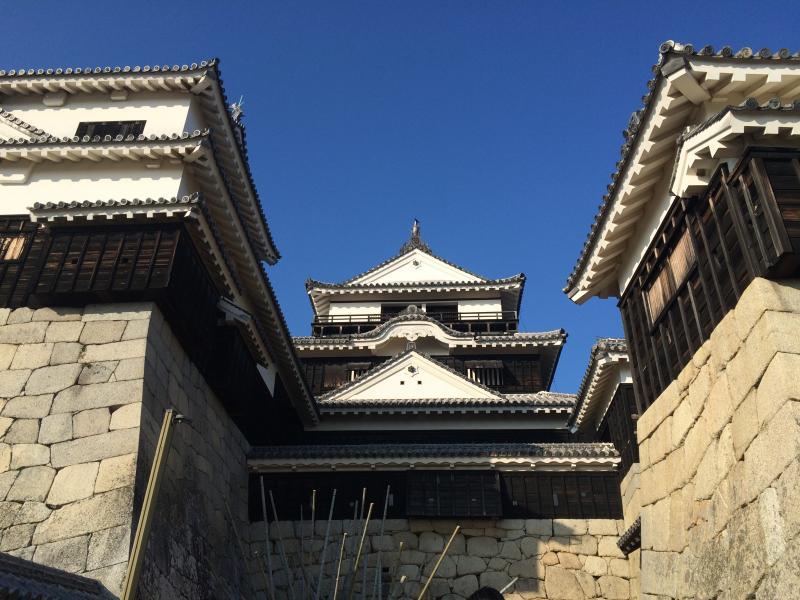 施設名松山城です。。。