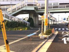 「北川顔」バス停留所