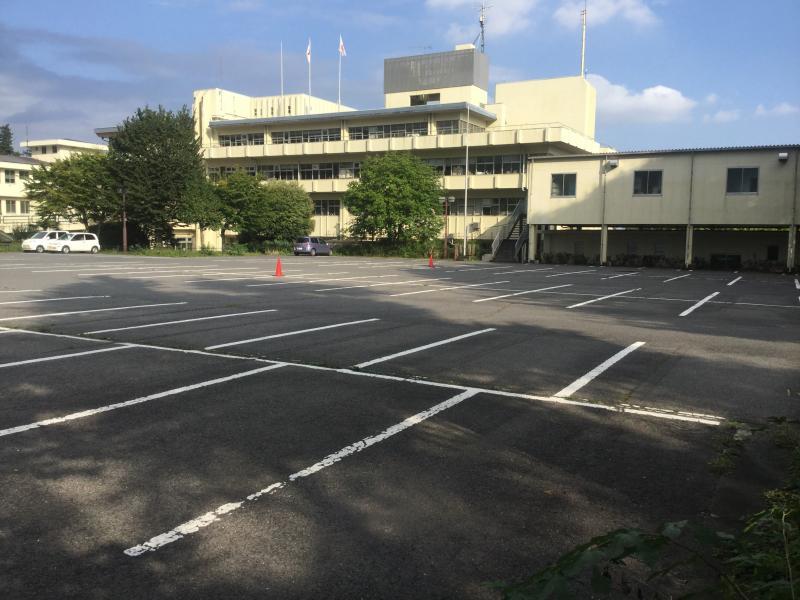 日光市役所の外観