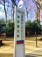 「津田塾大学」バス停留所