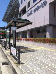 「堺駅西口」バス停留所