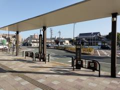 「JR島本」バス停留所