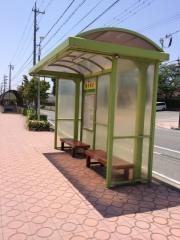 「磐田北小」バス停留所