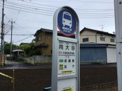 「向大谷」バス停留所